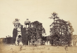 Entrance to the Sikanderbagh, Lucknow.